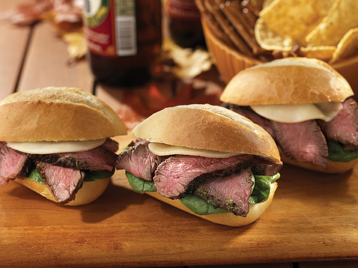 Game Time Steak Sliders