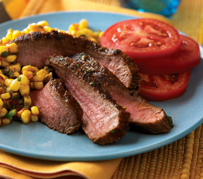 Grilled Southwest Steaks