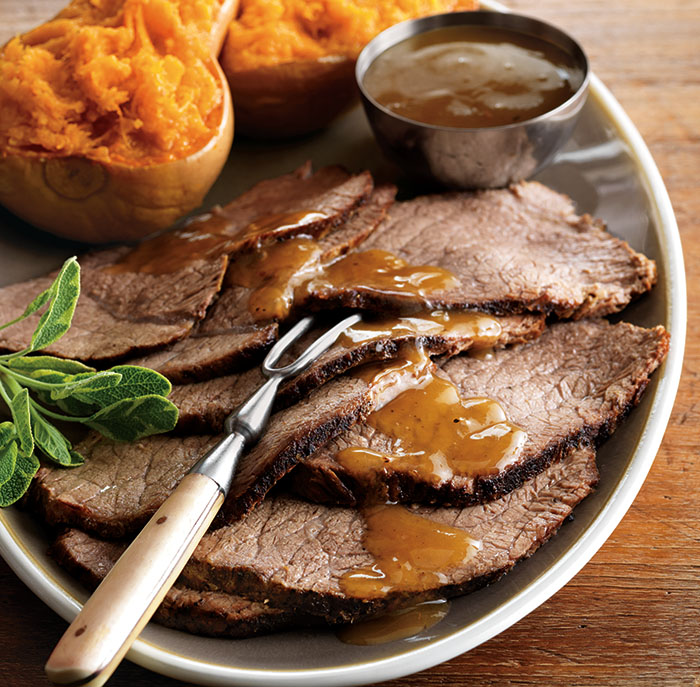 Pot Roast with Cider-Maple Gravy